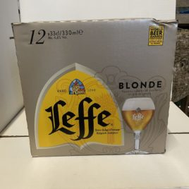 Pack Leffe Blonde 12x33cl